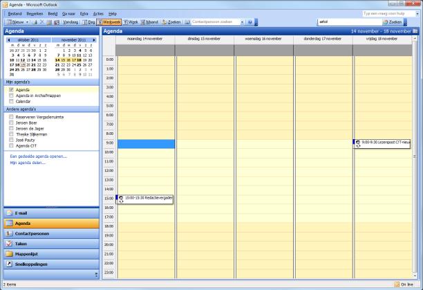 Agenda - Agile Manager